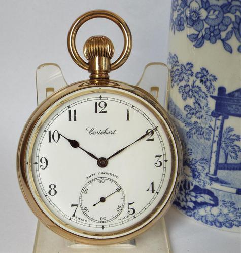 Vintage 1930s Cortebert Pocket Watch (1 of 5)