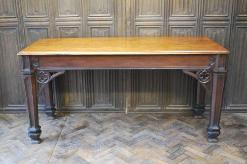 Country House Gothic Serving Table / Console Table (1 of 9)