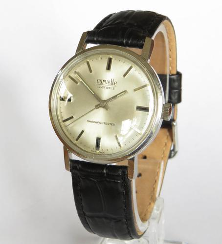 Gents 1960s Corvette Wristwatch (1 of 4)