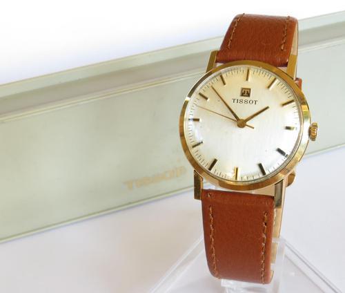 Gents 9ct Gold Tissot Wrist Watch, 1973 (1 of 5)