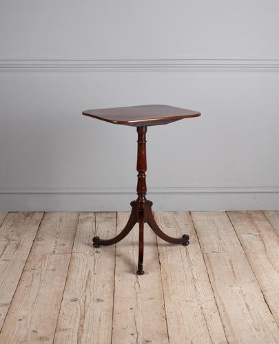 Regency Mahogany Lamp Table (1 of 6)