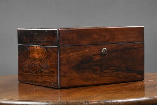 19th Century Rosewood Dressing / Jewellery Box (1 of 13)