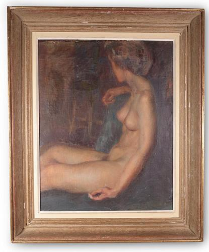 Female Nude Oil Painting (1 of 4)