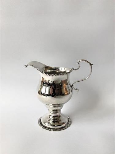 Fine Mid 18th Century Silver Cream Jug (1 of 5)