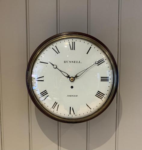 Convex Dial Fusee Wall Clock (1 of 8)