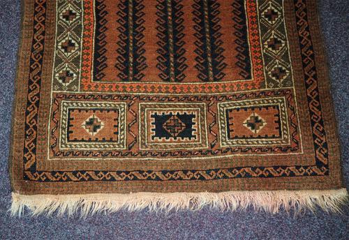Super Quality Vintage Afghan Prayer Rug (1 of 5)