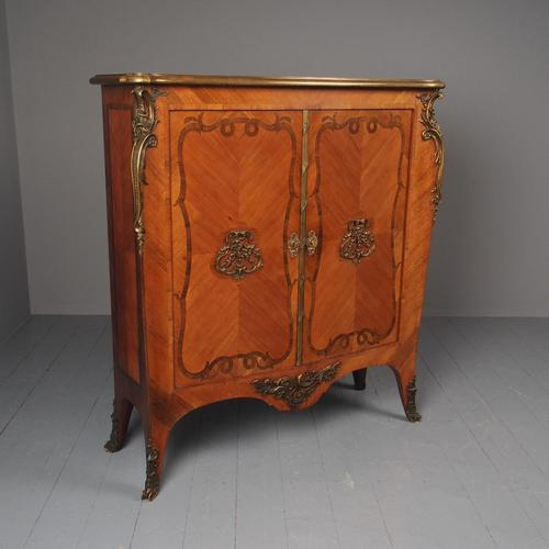 Antique French Kingwood Side Cabinet (1 of 18)