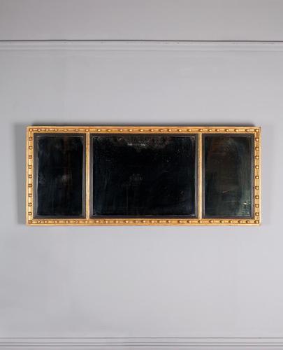 Regency Gilt Overmantle Mirror (1 of 4)