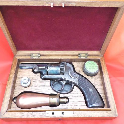 Webley Bentley Type Percussion Revolver (1 of 8)