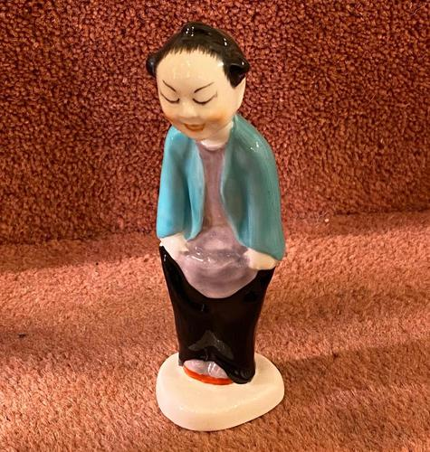 Royal Worcester Porcelain Figure – 'Chinoiserie Children' series by Gwendoline Parnell (1 of 3)