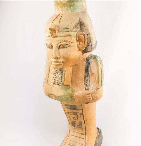 Vintage Egyptian Stone Sarcophagus (1 of 6)
