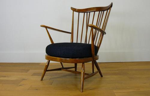 Mid Century Ercol Goldsmith 359 Easy Armchair with New Cushion (1 of 14)