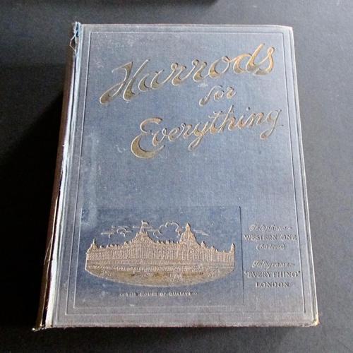 1912 Original Harrods For Everything, Trade Catalogue (1 of 5)