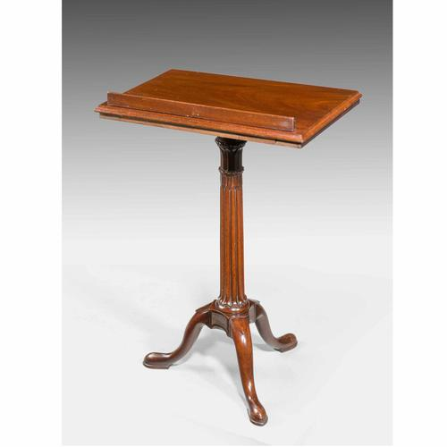Chippendale Period Mahogany Reading / Writing Table (1 of 4)