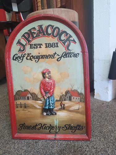 Vintage Golf Sign (1 of 2)