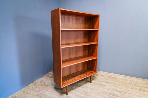 Tall Open Teak Bookcase (1 of 7)