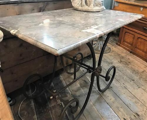 Early 20th Century French Patisserie Table (1 of 5)