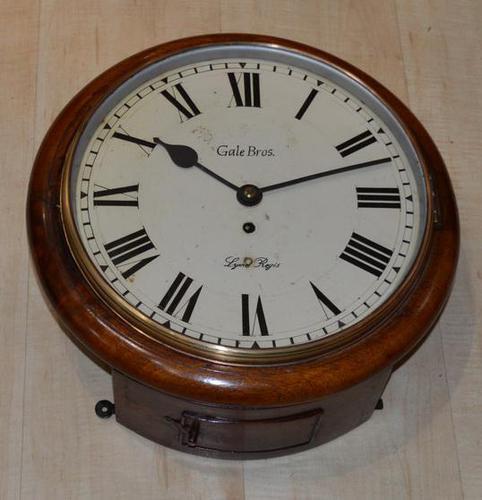 Gale Bros Lyme Regis Fusee Dial Wall Clock (1 of 4)