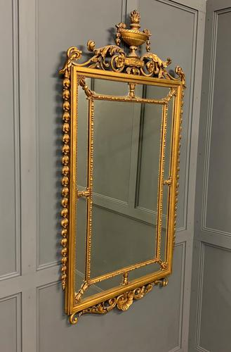 Neo Classical Adams Style Giltwood Mirror (1 of 17)