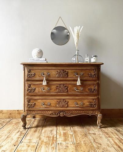 French Antique Style Drawers / Chest of Drawers / Louis XV Style (1 of 6)