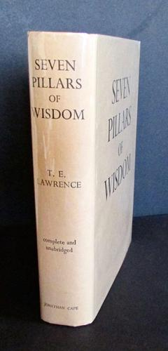 1935 1st Edition Seven Pillars of Wisdom with Original Dust Jacket by T. E. Lawrence (1 of 6)