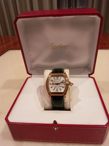 Cartier Extra Large 18ct Gold Roadster Wristwatch (1 of 6)