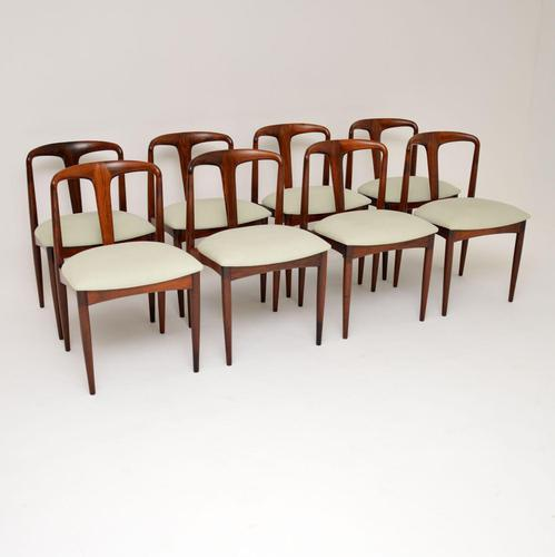Set of 8 Danish Rosewood Julianne Dining Chairs by Johannes Andersen (1 of 11)