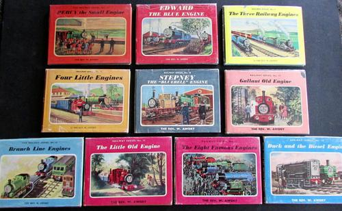 Collection of  1960's Children's Books from the Railway  Series by  Rev  W Awdry, Thomas The Tank Engine Etc (1 of 5)