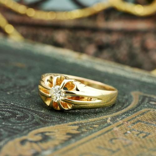 The Vintage 1977 Solitaire Diamond Ring (1 of 6)