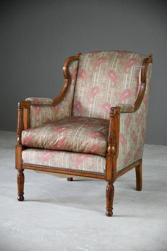 Single Mahogany Armchair (1 of 12)