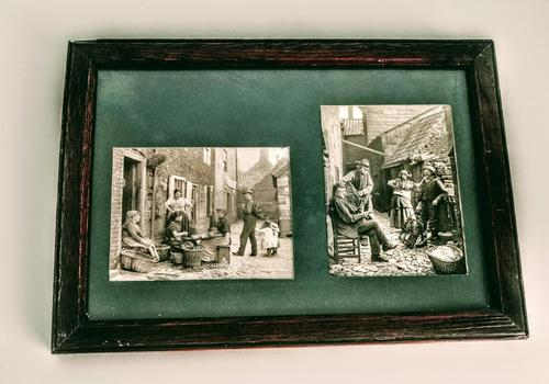 Framed Late Victorian or Early Edwardian Photographs (1 of 5)