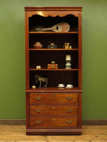 Tall Narrow Alcove Bookcase Shelving Cabinet by Thomasville Furniture USA (1 of 10)