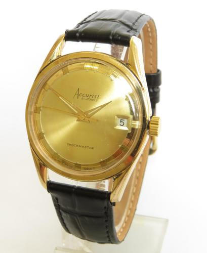 Gents 1960s Accurist Wrist Watch (1 of 5)