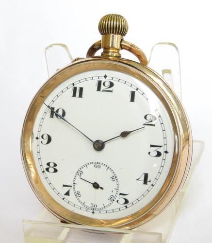 Antique Eterna Private Label Pocket Watch (1 of 5)