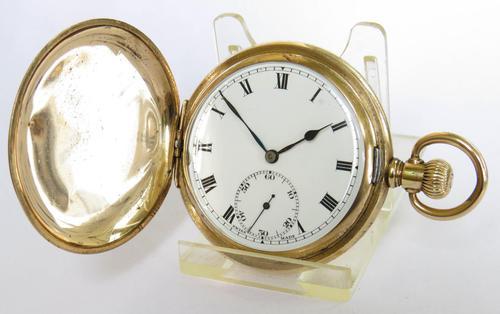 Antique Syren Hunter Pocket Watch (1 of 6)