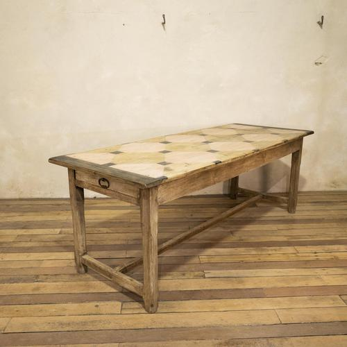 Early 20th Century French Painted Refectory Table (1 of 14)