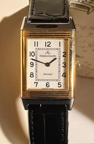 Jeager le Coultre Reverso Ladies Watch in Gold & Steel (1 of 6)