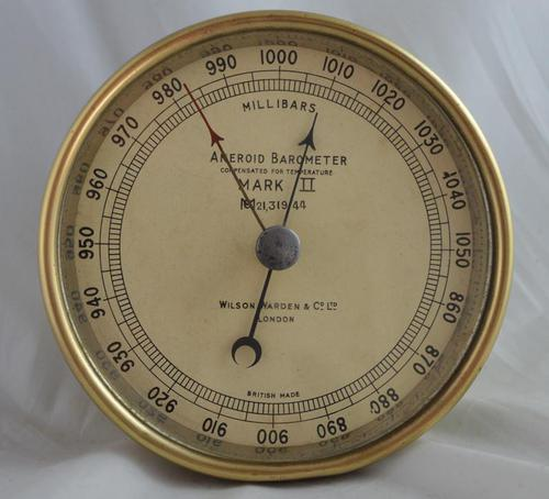 Wilson & Warden London Aneroid Barometer (1 of 4)