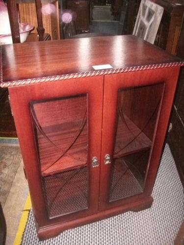 Mahogany Glazed Cabinet (1 of 1)
