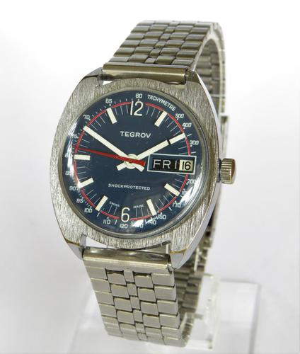 Gents 1970s Tegrov Wrist Watch (1 of 5)