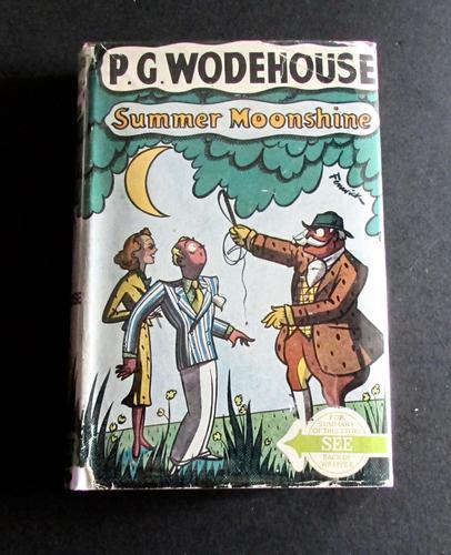 1940 Summer Moonshine  P G Wodehouse with Original Dust Jacket (1 of 4)