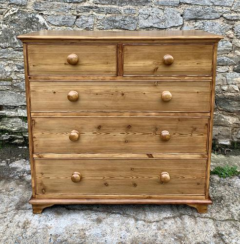 Antique Pine Chest of Drawers (1 of 17)