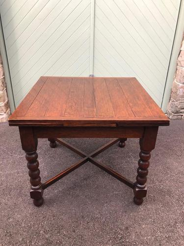 Antique Oak Extending Dining Table (1 of 10)