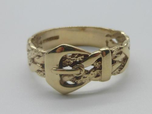 Gold Buckle Ring (1 of 6)