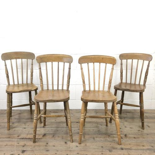Set of Four Mix & Match Farmhouse Chairs (1 of 10)