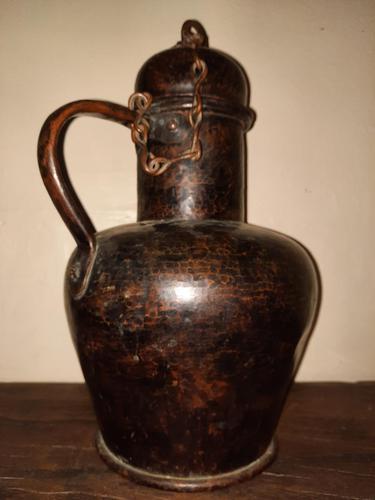 18th Century Spanish Arab Style Copper Jug (1 of 10)