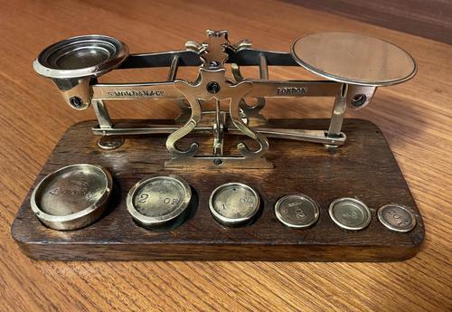 Postal Scales by S Mordan (1 of 6)