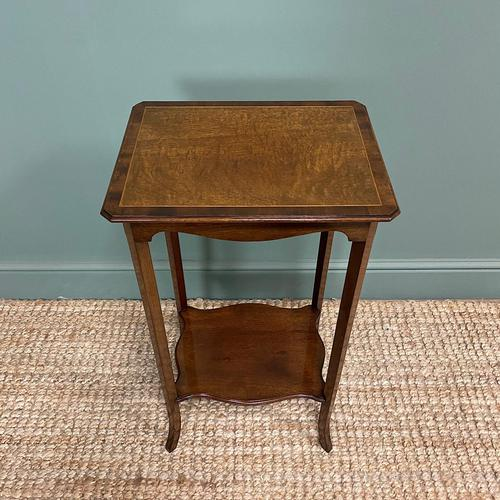 Superb Quality Mahogany Wine Table / Lamp Table by John Taylor (1 of 6)