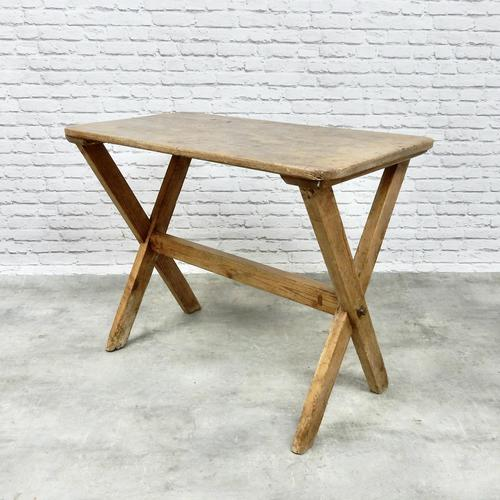 X-frame Tavern Table (1 of 6)