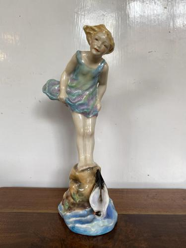 Royal Worcester Figure 'Sea Breeze' (1 of 5)